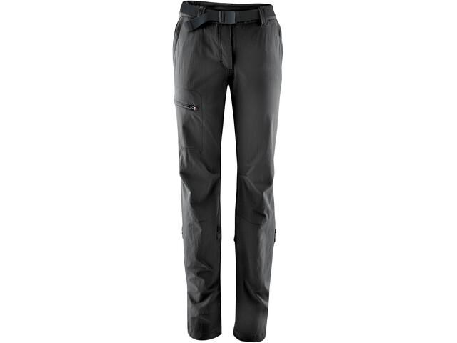 Maier Sports Lulaka Spodnie z podwijanymi nogawkami Kobiety, black